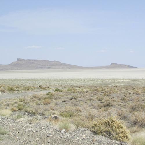 Viewing the Floating Island Mountain is one of the joys experienced along the Silver Island Mountain route in Tooele County. (Tom Wharton Photo)