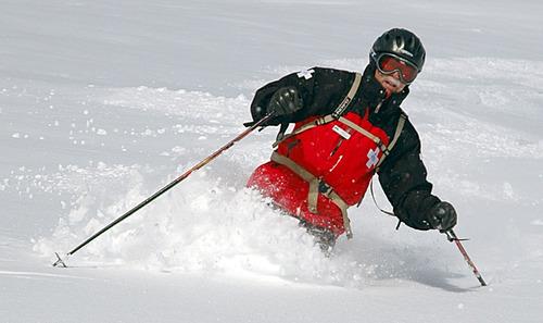 Francisco Kjolseth   Tribune file photo Salt Lake City - Powder Mountain cat skiing.  Photo by  02/10/2009