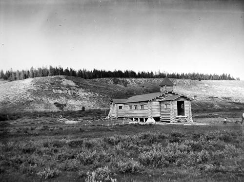 Salt Lake Tribune archive  St. Hubert the Hunter. Bondurant, Wyo.