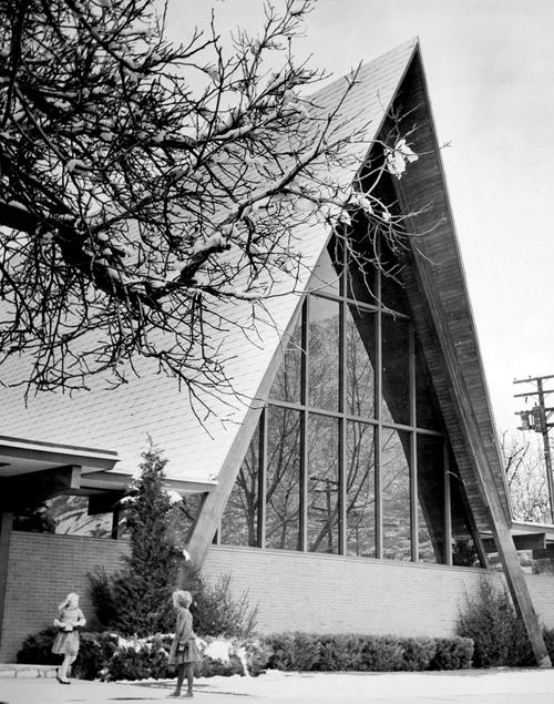 Salt Lake Tribune archive  St. Paul's Episcopal, Salt Lake