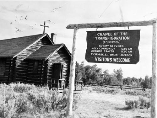 Salt Lake Tribune archive  Church of the Transfiguration. Moose, Wyoming