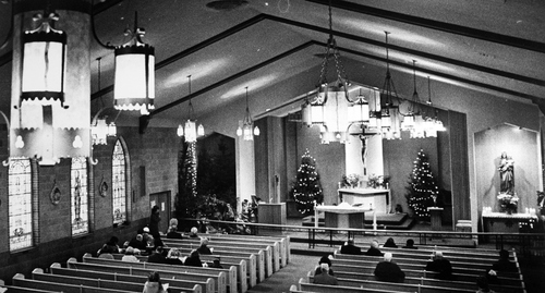 Salt Lake Tribune archive  Church of the Sacred Heart