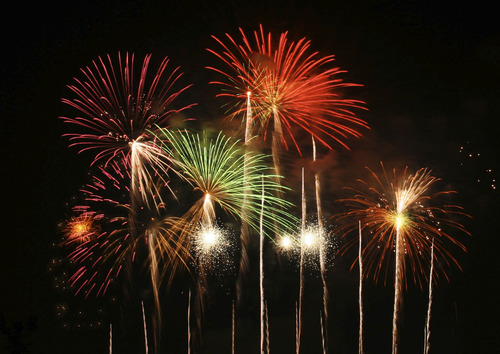 Fireworks Stock Art. Courtesy SXC.hu