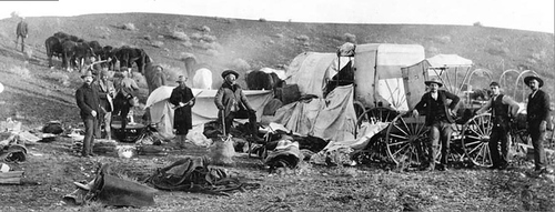 Photo Courtesy Utah State Historical Society  Buffalo Bill and his men were siting a proposed game preserve in Southern Utah. Buffalo Bill was a frontiersman, a trapper, a Colorado gold rusher, a Pony Express rider, a Civil War soldier, and a legend of the American West.