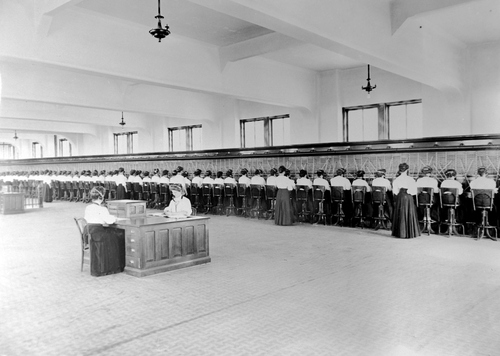 Salt Lake Tribune archive  Rocky Mtn. Bell telephone company