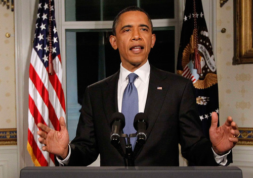 President Obama announces deal to avoid government shutdown Friday night, but who won the showdown with spending cut proponents in Republican Party? (AP photo)