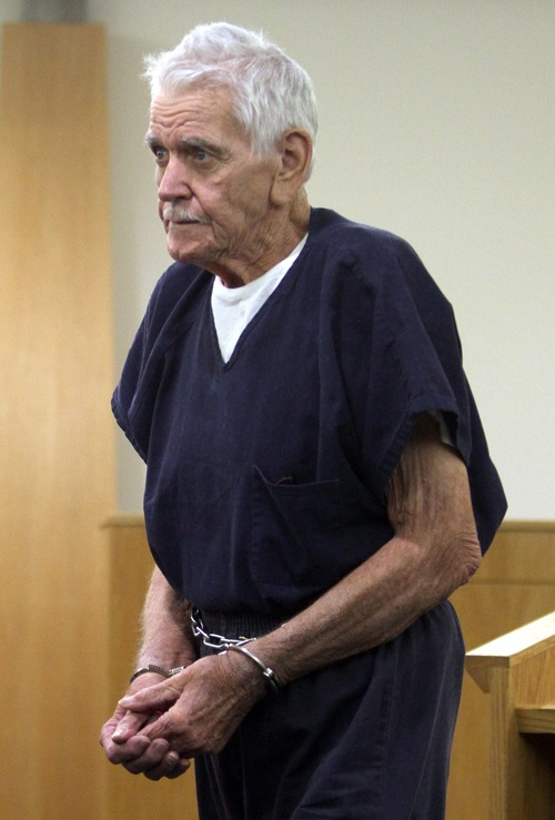 Rick Egan  |  The Salt Lake Tribune Charles Edward Dodd appeared in the Eighth District Court, in October 2011. Dodd, 75, is charged with first-degree murder for the death of his ill wife. He allegedly tried to commit suicide after killing her.