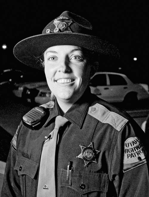 Rick Egan  |  Tribune file photo Lisa Steed was named the Utah Highway Patrol trooper of the year in 2007 for her many many DUI arrests. She was the first woman to receive this award. In court March 27, 2012, Steed admitted she intentionally violated the agency's policies twice during a 2010 traffic stop.