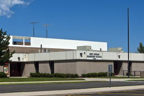 Chris Detrick  |  The Salt Lake Tribune West Jordan Elementary School would be torn down under a preliminary plan for a $501 million bond in the Jordan School District. It would allocate $30 million to replace West Jordan Middle School and $16 million to replace West Jordan Elementary.