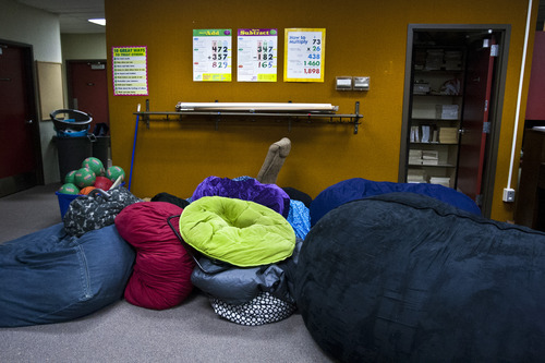 Chris Detrick  |  The Salt Lake Tribune Bean bag chairs in a classroom at West Jordan Elementary School, which would be torn down under a preliminary plan for a $501 million bond in the Jordan School District. It would allocate $30 million to replace West Jordan Middle School and $16 million to replace West Jordan Elementary.