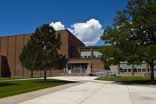 Chris Detrick  |  The Salt Lake Tribune West Jordan Middle School, which would be torn down under a preliminary plan for a $501 million bond in the Jordan School District. It would allocate $30 million to replace West Jordan Middle School and $16 million to replace West Jordan Elementary.