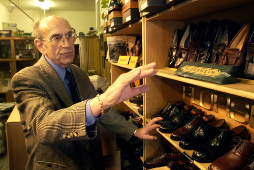 Tribune file photo Richard Wirick, owner of The Oxford Shop in downtown Salt Lake City, died Feb. 21, 2012, in a traffic accident.