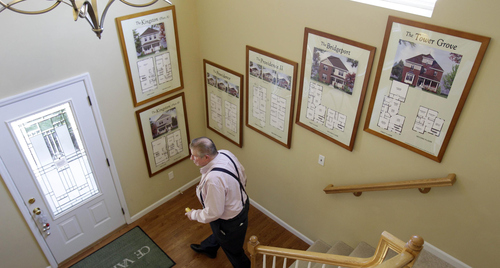Jeff Roberson | Associated Press file photo Tackling that first home purchase after 40 can be easier in some ways than when you're just starting out in your career, but it also brings its own set of financial factors.