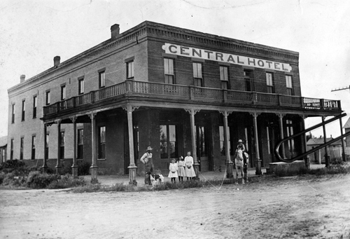 Salt Lake Tribune archive  The Central Hotel, Corinne, Utah 1871