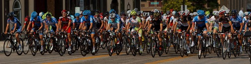 Trent Nelson     The Salt Lake Tribune Stage One of the Tour of Utah kicks off in downtown Ogden, Utah Tuesday, August 7, 2012.