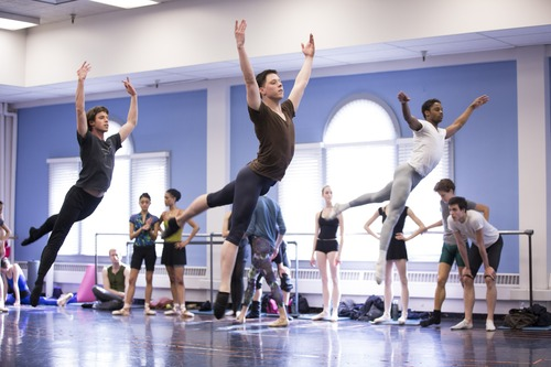 "Zach Prentice (center) and Josh Whitehead (right) figure prominently in Season 2 of ""Breaking Pointe."" Courtesy photo"