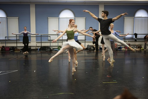 "Ballet West's  Christiana Bennett and Rex Tilton return for Season 2 of ""Breaking Pointe"" on The CW. Courtesy photo"