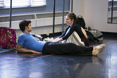 "Rex Tilton and Allison DeBona return for Season 2 of ""Breaking Pointe"" on The CW. Courtesy photo"