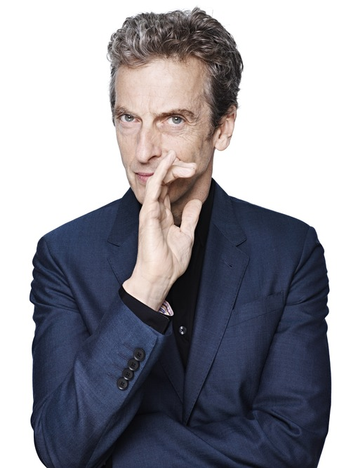 Peter Capaldi, the new Doctor Who.