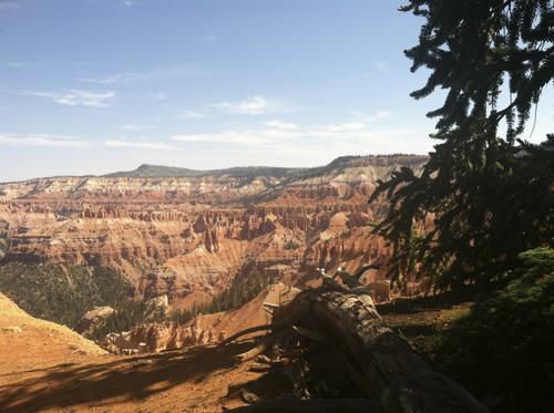 Lindsay Whitehurst | The Salt Lake Tribune Spectra Points and Ramparts Overlook trail at Cedar Breaks.