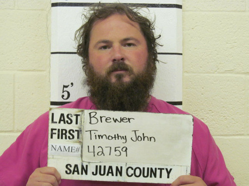 Timothy Brewer, a Grand County Sheriff's Office deputy. Courtesy image