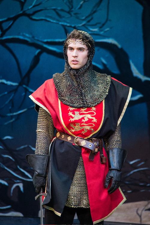 Karl Hugh | Utah Shakespeare Festival 2013 Zack Powell as Prince Henry in the Utah Shakespeare Festival's 2013 production of King John.