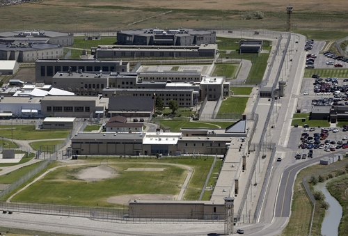 Rick Bowmer  |  Associated Press file photo The Utah State Prison is located in Draper, Utah. A committee studying the relocation of Utah's state prison is getting ready to request bids from developers. The Utah State Prison occupies 700 acres in Draper nearby companies such as Adobe and Microsoft Corp. Supporters of relocation say the move will let the Draper site develop as a hub for software companies and other firms. The 11-member committee of elected officials and community leaders will recommend whether the state should move the prison, and if so, where the new site should be and how the current site should be developed.