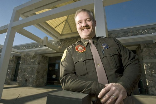 x8759. thanks. Paul Fraughton  |  The Salt Lake Tribune  Davis County Sheriff Todd Richardson, seen here in this file photo, believes counties can house inmates and help Utah avoid building a new mega prison.