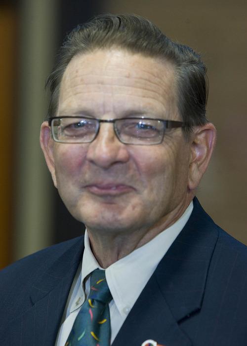 Paul Fraughton  |   Salt Lake Tribune  Candidate for West Valley City Mayor,   Don Christensen.                           Monday, August 5, 2013