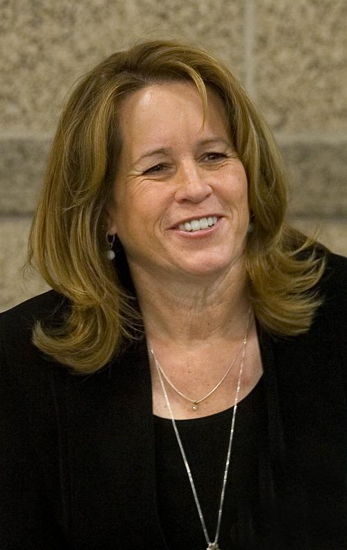 Paul Fraughton  |   Salt Lake Tribune  Candidate for West Valley City Mayor,  Karen Lang.                      Monday, August 5, 2013