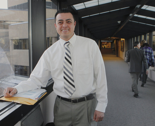 Tribune file photo  Candidate for West Valley City Council, Joe Garcia