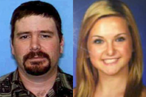 FILE - This combination of undated file photos provided by the San Diego Sheriff's Department shows James Lee DiMaggio, 40, left, and Hannah Anderson, 16. A massive search entered a seventh day Saturday, Aug. 10, 2013, for DiMaggio, suspected of abducting 16-year-old family friend Hannah. DiMaggio is suspected of killing Hannah's mother Christina Anderson, 44, and her 8-year-old brother Ethan Anderson, whose bodies were found Sunday night in DiMaggio's burning house in California near the Mexico border. (AP Photo/San Diego Sheriff's Department, File)
