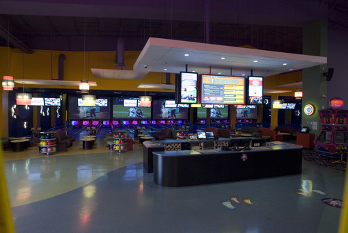 | Courtesy The Boondocks bowling center in Northglenn, Colo. uses technology developed by QLess to reduce the wait times for its visitors.