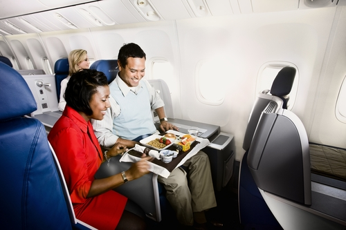 Delta Air Lines is developing a new menu. (Scott Lowden/Delta Air Lines)