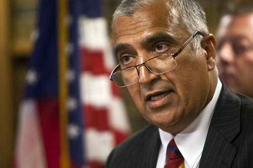 Chris Detrick  |  Tribune file photo Salt Lake County District Attorney Sim Gill.