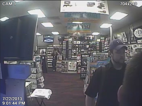Courtesy Salt Lake City Police Department Salt Lake City police and Unified police want the public's help identifying the man they suspect robbed five Salt Lake Valley businesses from March to July.