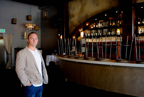 Trent Nelson  |  The Salt Lake Tribune Cafe Molise owner Fred Moesinger, tired of waiting for a coveted club license, is opening a wine bar in downtown Salt Lake City using a 6-month seasonal permit. There's an acute shortage of club permits, with 11 applicants currently on a waiting list.