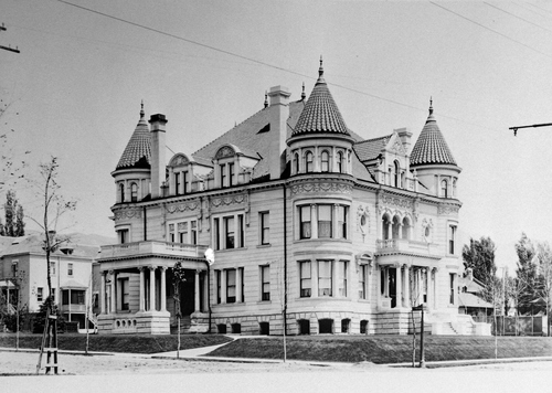 Salt Lake Tribune archive  The Kearns mansion on 600 East and South Temple is used today as the residence of Utah's governor.