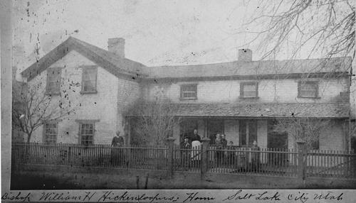 Salt Lake Tribune archive  Bishop William H. Hickenlooper Home, SLC.