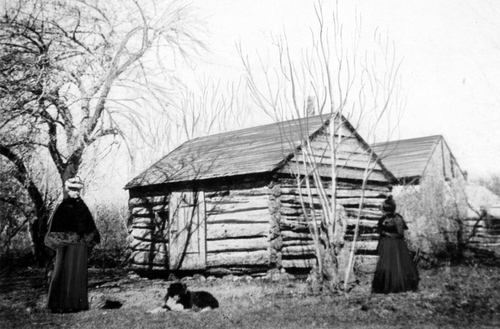 Salt Lake Tribune archive  First house in Utah. Built by M.M. Goodyear in what is now Ogden, Utah, 1841.