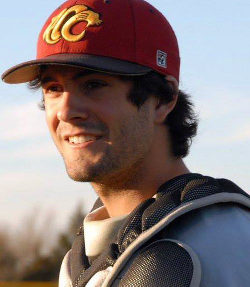 """In this undated photo provided by the Essendon Baseball Club, player Chris Lane wears his baseball equipment, in Australia. The Australian baseball player out for a jog in an Oklahoma neighborhood was shot and killed by three """"bored"""" teenagers who decided to kill someone for fun, police said.Lane, who was visiting the town of Duncan where his girlfriend and her family lives, had passed a home where the boys were staying and that apparently led to him being gunned down at random, Police Chief Danny Ford said Monday, Aug. 19, 2013. (AP Photo/Essendon Baseball Club) EDITORIAL USE ONLY"""