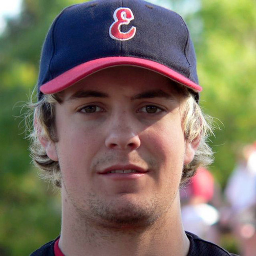 "In this undated photo provided by the Essendon Baseball Club,  player Chris Lane wears his baseball equipment, in Australia. The Australian baseball player out for a jog in an Oklahoma neighborhood was shot and killed by three ""bored"" teenagers who decided to kill someone for fun, police said.  Lane, who was visiting the town of Duncan where his girlfriend and her family lives, had passed a home where the boys were staying and that apparently led to him being gunned down at random, Police Chief Danny Ford said Monday, Aug. 19, 2013. (AP Photo/Essendon Baseball Club) EDITORIAL USE ONLY"