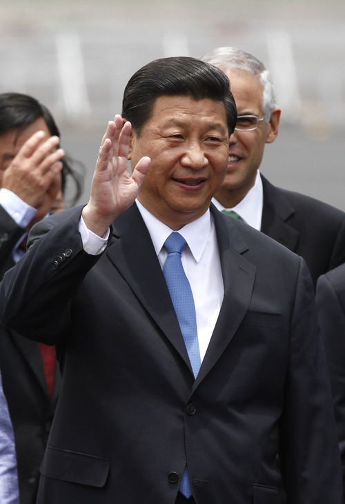 (AP Photo/Marco Ugarte) Chinese President Xi Jinping will meet this week with U.S. officials to discuss a range of topics, including cyber-security.