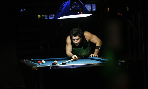 Scott Sommerdorf   |  The Salt Lake Tribune The Royal has a pool table, and lots of TV screens showing sports and music videos. The Royal is a new bar that is run by the local band Royal Bliss, Friday, August 16, 2013.