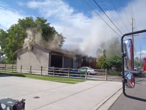 Fire crews respond to a house fire at 1362 S. 1100 W in Provo, Wednesday, Aug. 21, 2013. The fire is currently under investigation. Courtesy Provo Fire Department