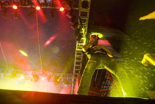 Keith Johnson | The Salt Lake Tribune  Kid Cudi performs at the Twilight Concert Series in Salt Lake City, August 22, 2013.