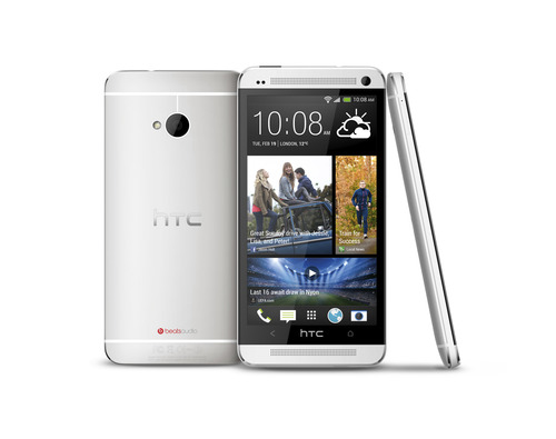 The HTC One smartphone. Courtesy image