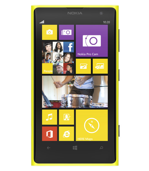Courtesy photo The Nokia 1020 Windows Phone with a 41-megapixel camera.