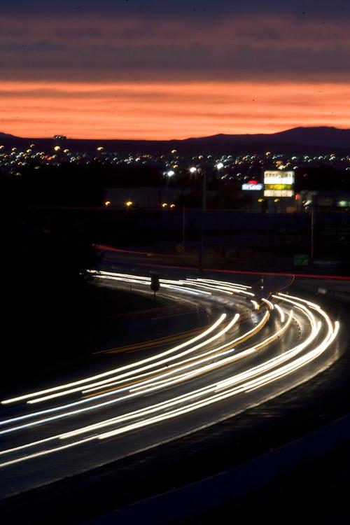 Rick Egan  | The Salt Lake Tribune   Traffic on I-80 in Salt Lake City, Monday, August 26, 2013.