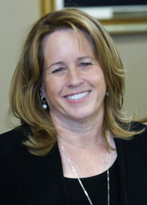 Paul Fraughton  |   The Salt Lake Tribune West Valley City Councilwoman Karen Lang is running for mayor.